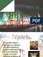 Diapositivas Circuito Mágico Del Agua