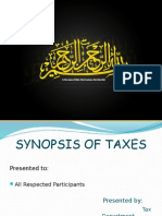 Tax Presentation (Punjab)