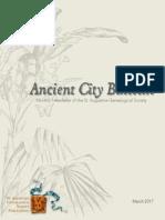 Ancient City Bulletin - Mar 2017