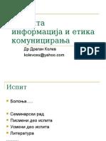 1.Informacija i Komunikacija (2014)