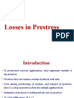 Losses in Prestressed Concrete