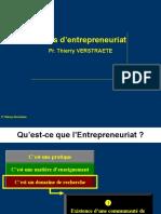 Ppt Qu Est Ce Que l Entrepreneuriat