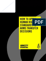 How to Apply HR Standards to Arms Transfer Decisions.amnesty.finaL