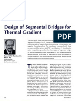 Design of Segmental Bridges for Thermal Gradient