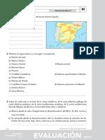 6º Ciencias Sociales - Evaluación Inicial