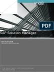 Sap Solution Manager - CHARM - Service Desk-Support Message