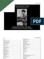 Wilson Baptista 100 Anos