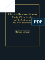 Vinzent Christs Resurrection in Early Christianity