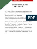Sistema de Notificaciones Electronicas