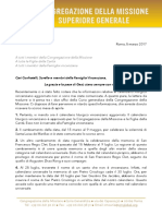 [Italiano] La Lettera sulla revisione del Calendario Liturgico Vincenziano