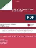 Clase 1 Estructura económica argentina y mundial