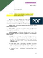 DAO 35 Series 1990 Revised Effluent Regulations of 1990