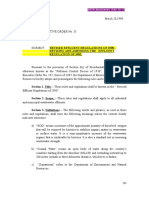 DAO 35 Series 1990 Revised Effluent Regulations of 1990