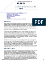 13. Documentation of Plant Genetic Resources - R.L