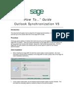 Sage X3 - User Guide - HTG-Outlook Synchronization.pdf