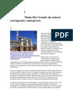 Planta de Separacion de Liquidos Rio Grande