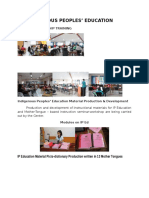 Report on IP Education