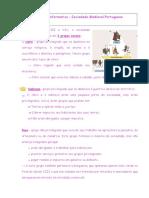 Ficha Informativa - Sociedade Medieval Portuguesa