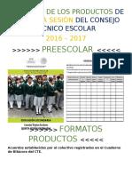 FormatosProductos5taCTESecu