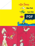One Fish Two Fish Red Fish Blue Fish Copy