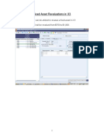 Sage X3 - User Guide - Fixed Asset Revaluations in X3.doc