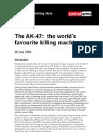 The AK-47 the Worlds Favourite Killing Machine