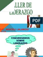 TALLER DE LIDERAZGO Y SUPERVISION.ppt