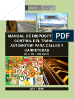 Manual de Dispositivos de Control Del Transito