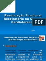 Reabilitação Respiratória Na Cirurgia Cardiotóracica 2011