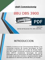 COMISIONAMIENTO BBU3900  LTE 4G_JP