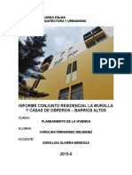 Analisis Conjunto Residencial La Muralla