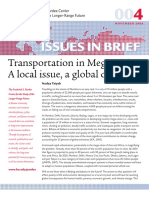 BU Pardee Policy Paper 004 Megacities