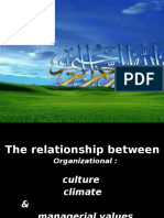culture value climate.ppt
