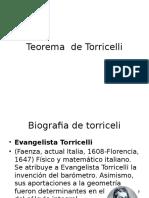 Fisica 3-3. Teorea de Torricelli
