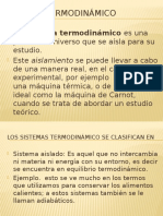Fisica 3-6. Sistema Termodinámico