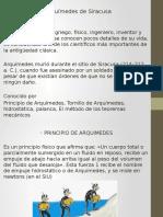 Fisica 3-2. ARQUIMEDES