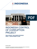 Indonesia Control of Corruption Project