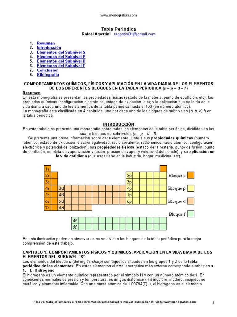Quimica tabla periodica urtaz Images