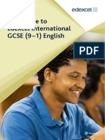 Pearson Edexcel International GCSE 9to1 English Guide