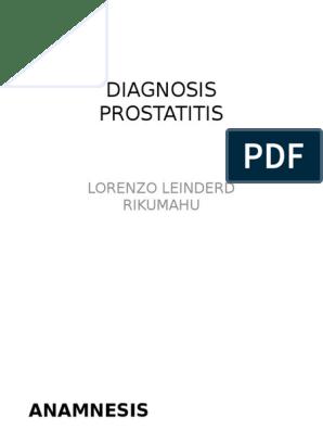 A prosztatitis kezelési módszerei