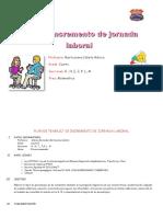 Plan de Trabajo de Incremento de Jornada Laboral-2016