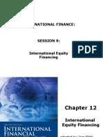 FIE433 - International Equity Financing