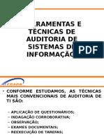 Ferramentas e Técnicas de Auditoria de Sistemas de Informação