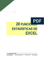Manual Funciones Estadísticas