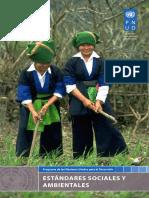 UNDPs Social Environmental Standards SPANISH