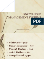 Knowledge Management Systems in Orgnization