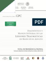 Diagnostico Integral de La Lesiones Traumaticas de Mano
