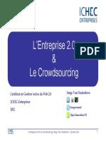 l Entreprise 2-0 Et Le Crowdsourcing