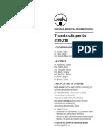 TrombocitopeniaInmune