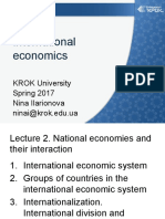 International Economics 2 2017